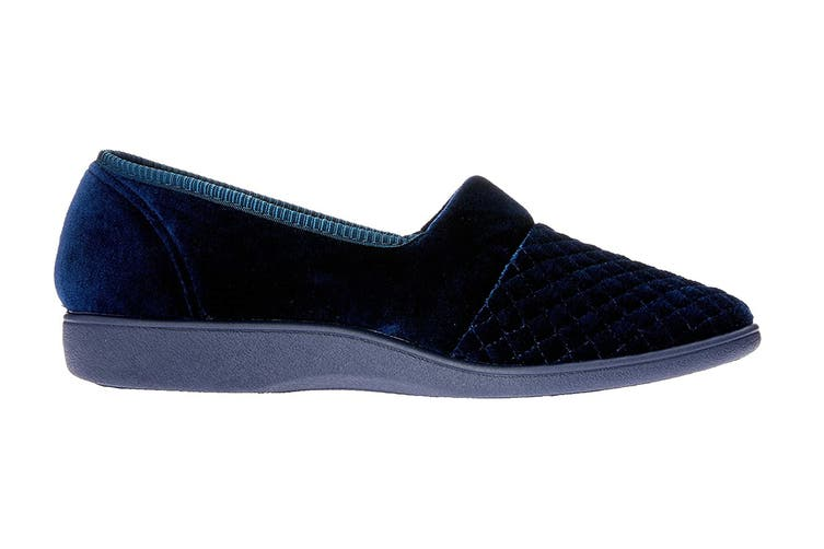 Grosby Women's Marcy 2 Slippers (Deep Navy, Size 7 US)