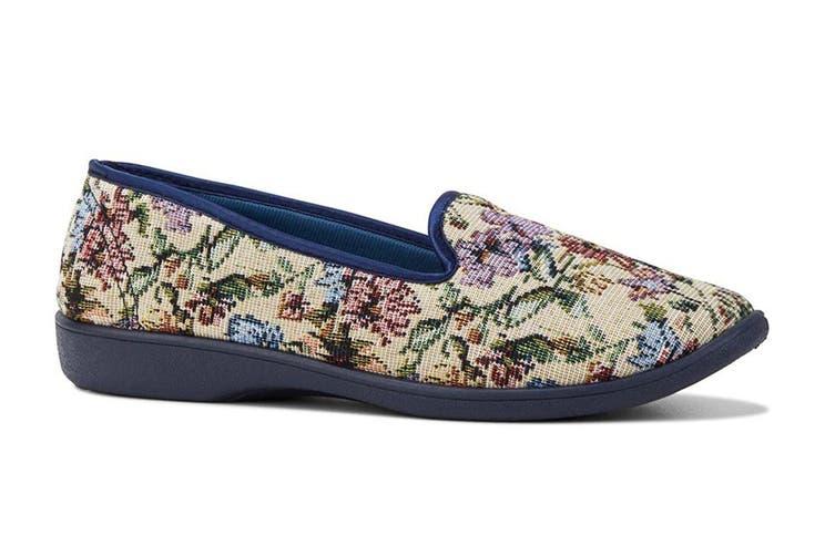 Grosby Women's Dalia Slippers (Multi, Size 6 US)