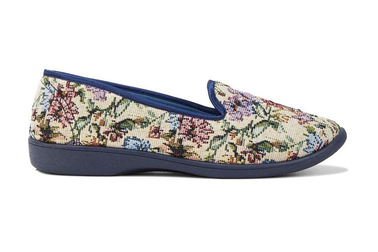 Grosby Women's Dalia Slippers (Multi, Size 7 US)
