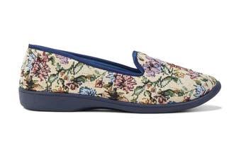 Grosby Women's Dalia Slippers (Multi, Size 9 US)