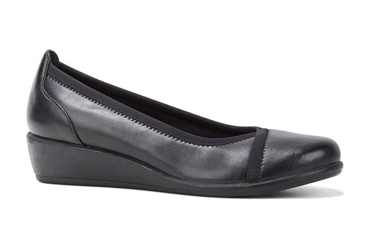Grosby Women's Mara Heels (Black, Size 8 US)