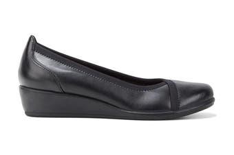 Grosby Women's Mara Heels (Black, Size 9 US)