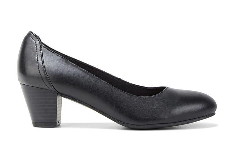 Grosby Women's Ivy Heels (Black, Size 10 US)