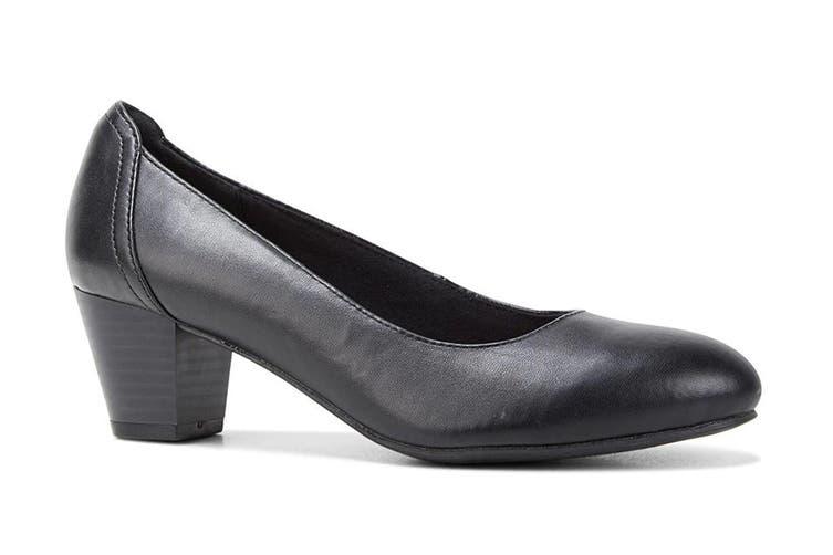 Grosby Women's Ivy Heels (Black, Size 8 US)