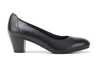Grosby Women's Ivy Heels (Black, Size 9 US)