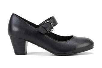 Grosby Women's Isli Heels (Black, Size 9 US)