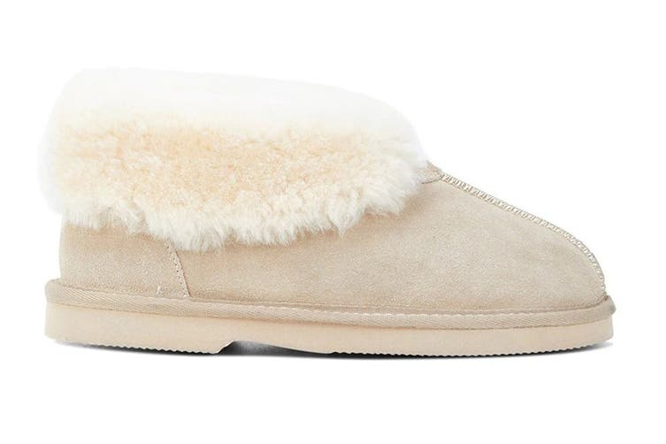 Grosby Women's Princess Ugg Boots (Beige, Size 6 US)