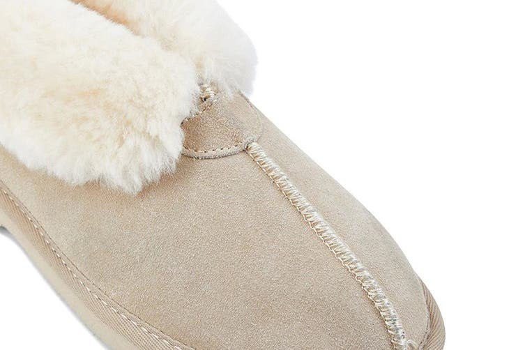 Grosby Women's Princess Ugg Boots (Beige, Size 7 US)