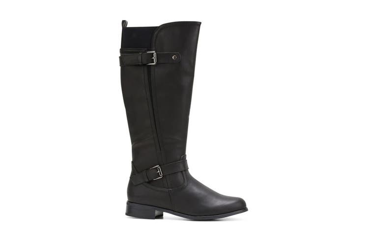 Grosby Women's Cynthia Boots (Black, Size 8 US)