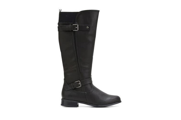 Grosby Women's Cynthia Boots (Black, Size 9 US)