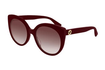 Gucci GG0325S Sunglasses (Burgundy) - Red