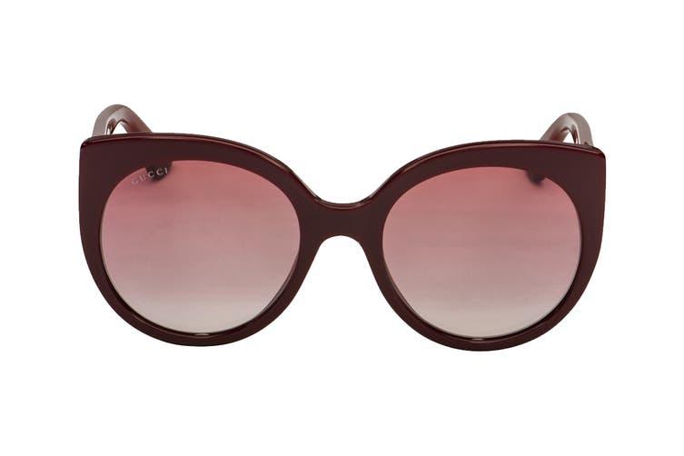 Gucci GG0325S Sunglasses (Burgundy) - Red