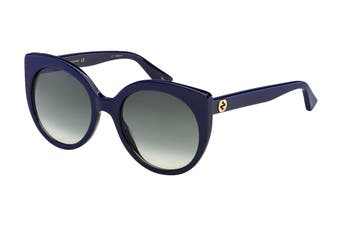Gucci GG0325S Sunglasses (Blue) - Grey