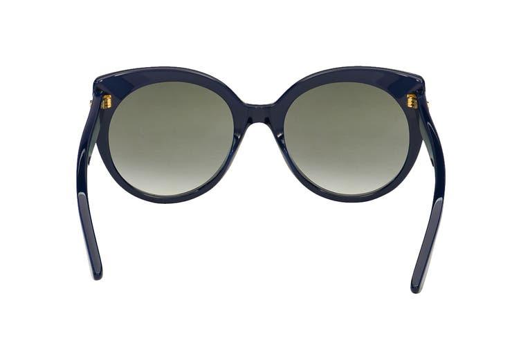 Gucci GG0325S Sunglasses (Blue) - Grey