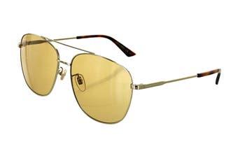 Gucci GG0410SK Sunglasses (Gold) - Brown