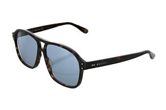 Gucci GG0475S Sunglasses (Havana) - Grey