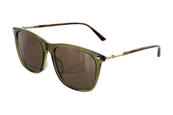 Gucci GG0518SA Sunglasses (Green) - Brown