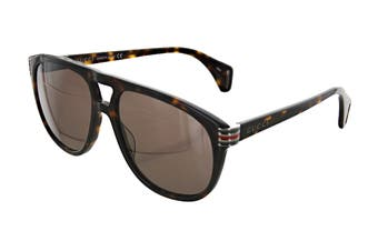 Gucci GG0525S Sunglasses (Havana) - Brown