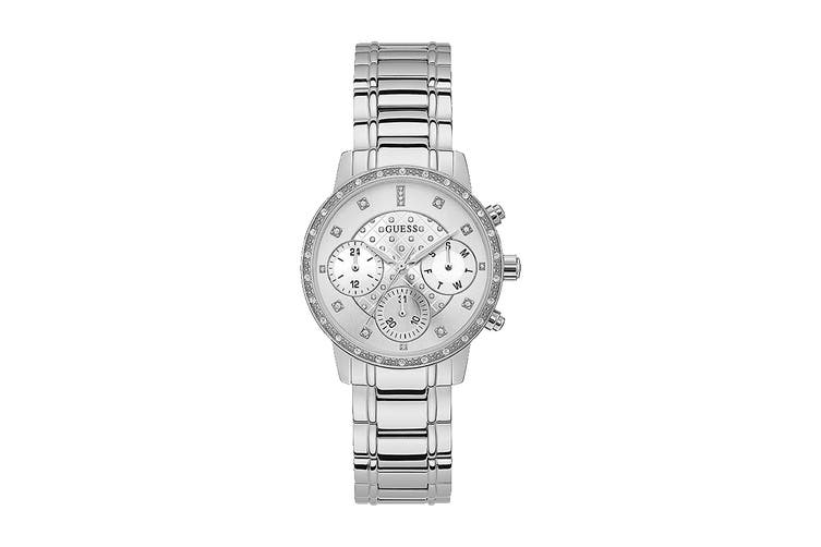 Guess Women's Sunny Silver Watch (Silver)