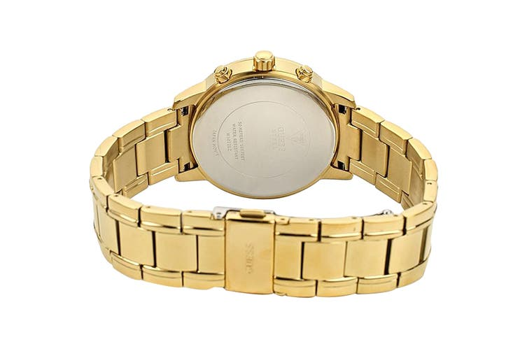 Guess Women's Sunny Gold Crystal Watch (Gold)