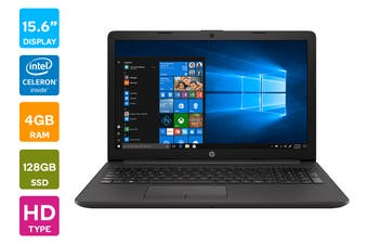 "HP 250 G7 15.6"" Celeron 3867U 4GB RAM 128GB SSD Win 10 Home Laptop (3N479PA)"