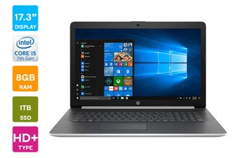 "HP Pavilion 17-by1062 17.3"" Windows 10 Laptop (i5-8265U 1.6GHz, 8GB RAM, 1TB, Silver) - Certified Refurbished"