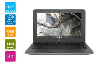 "HP Chromebook 11 G7 11.6"" HD Laptop (N4100, 4GB RAM, 32GB eMMC) - Australian Model"