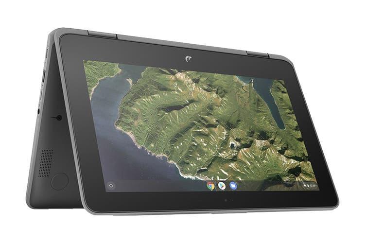 "HP Chromebook x360 11 G2 11.6"" HD Convertible 2-in-1 Touchscreen Laptop (N4000, 8GB RAM, 64GB eMMC) - Australian Model"