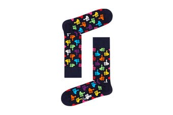 Happy Socks Thumbs Up Sock (Navy Blue, Size 41-46)