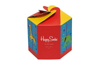 Happy Socks Kids Carousel Gift Box Socks (Size 2-3Y EU)