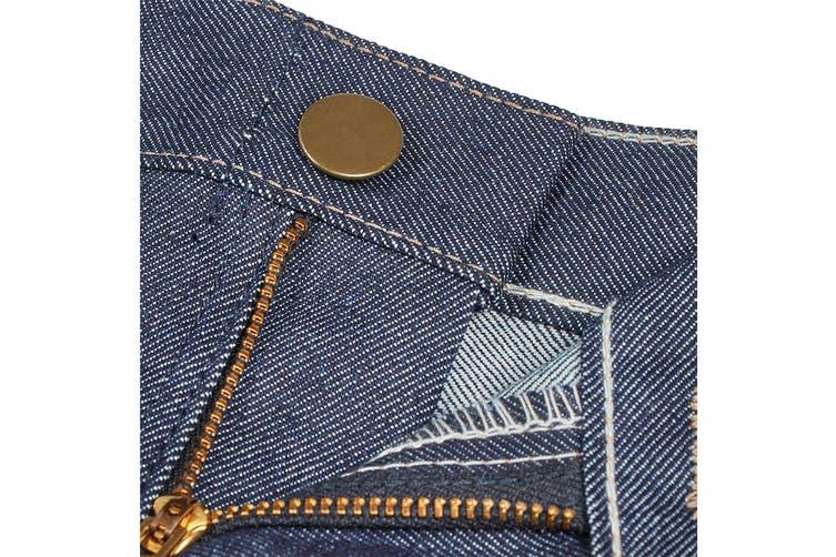 Hard Yakka Women's Bulwark iQ Flame Resistant Denim Pants (Indigo, Size 6)