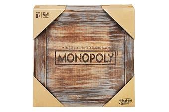 Hasbro Monopoly Rustic Series
