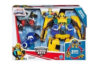 Playskool Transformers Rescue Bots Bumblebee Desert Patrol