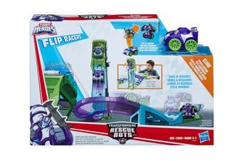 Playskool Heros Rescue Bots Blurr Reverse Raceway