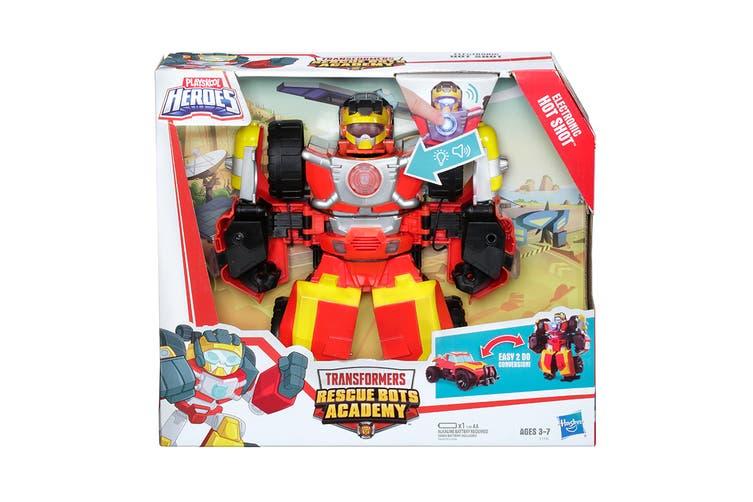 Playskool Transformers Rescue Bots Electronic Hot Shot