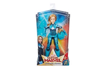 Marvel Captain Marvel Starforce Action Figure with Helmet
