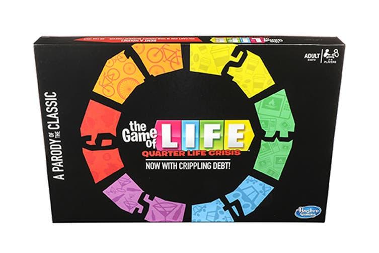 Game Of Life Quarter Life Crisis: Parody Game