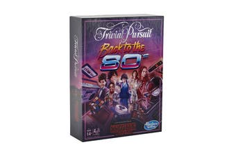 Trivial Pursuit Back to the 80's Stranger Things