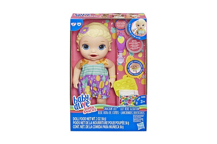 Baby Alive Super Snacks Snackin Lily Doll