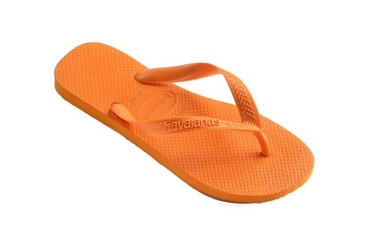 Havaianas Top Thongs (Vibrant Orange, Size 35/36 BR)
