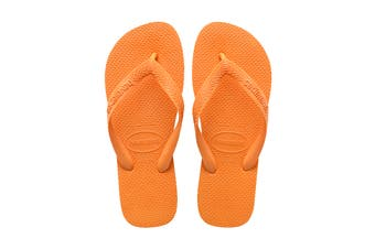 Havaianas Top Thongs (Vibrant Orange)
