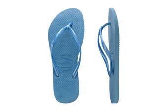 Havaianas Slim Thongs (Blue)