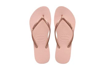 Havaianas Slim Thongs (Ballet Rose)