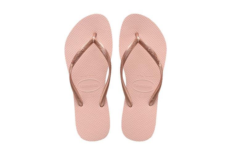 Havaianas Slim Thongs (Ballet Rose, Size 39/40 BR)