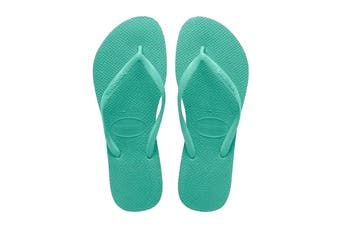 Havaianas Slim Thongs (Dew Green)