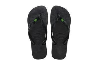 Havaianas Brasil Thongs (Black)