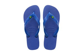 Havaianas Brasil Thongs (Marine Blue)