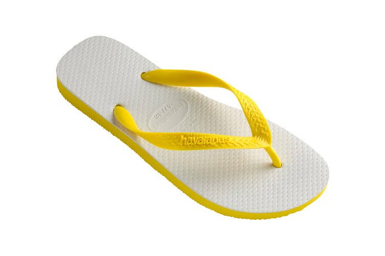 Havaianas Tradicional Thongs (Citrus Yellow, Size 37/38 BR)