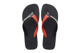 Havaianas Casual Thongs (New Graphite, Size 45/46 BR)
