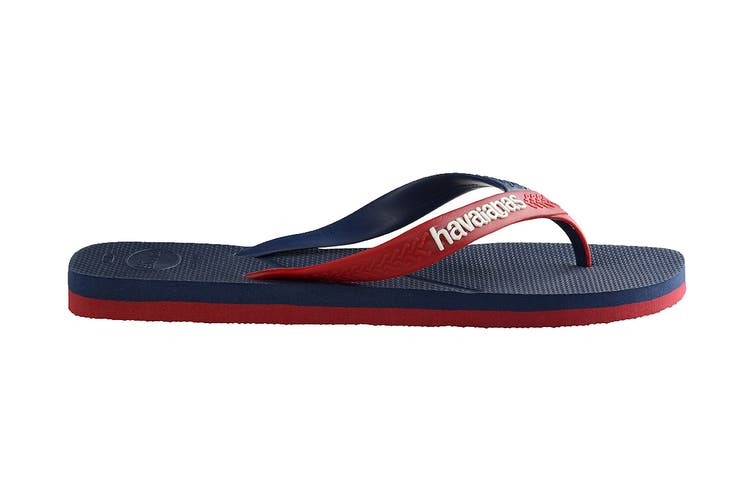 Havaianas Casual Thongs (Navy Blue Blue/Red, Size 43/44 BR)